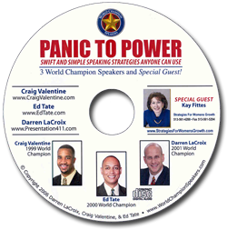 Panic to Power CD