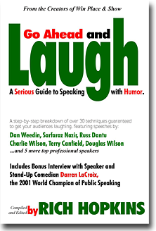 Go Ahead and Laugh - eBook Cover